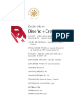 Documento Doctorado en Diseño y creacion Investigación