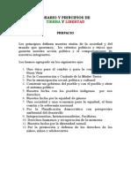 Ideario y Principios de Tierra y Libertad (julio 2010)