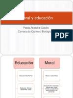 Moral y educación
