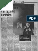 Miguel Serrano y El Nazismo Esoterico