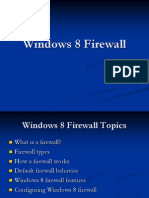 Windows 8 Firewall