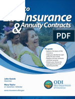 Guide to Life Insurance & Annuity Contracts