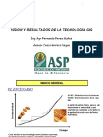 Vision y Result a Dos Tecnologia GIS_Fernando Perea Munoz