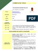 CV Telecom Engineer