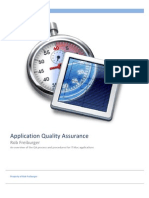 Application Quality Assurance