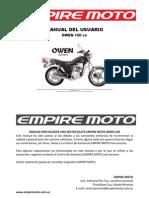 16359062 Keeway Owen 150 Manual Del Usuario