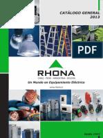 Catálogo General Rhona 2013