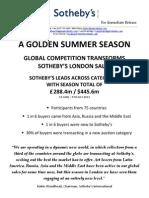 A Golden Summer Season