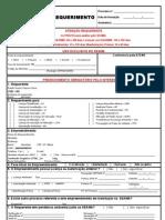 Requerimento Para Licenciamento