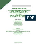 1er Congreso Carlos Paz 2009