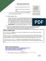 argument paper description sheet
