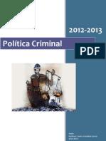Apuntes Politica Criminal ES 2013