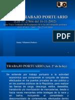 Ley Del Trabajo Portuario