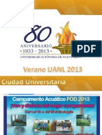 Presentación VERANO 2013