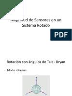 Angulos de Tait-Bryan y Sensores