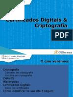 Certificação Digital e Criptografia