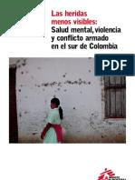 Médicos sin fronteras - Las heridas menos visibles (Informe)