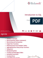 BSL SQL Training Part I