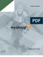 Cast Lighting Wysiwyg Reference Guide Rel 10 Sept 2004