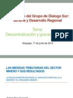 Presentacion Sobre Gravamen Minero Arequipa