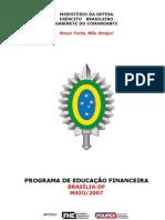 Apostila do Programa Educação Financeira para Brasília