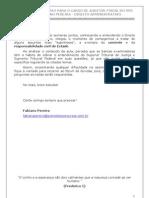 AFT_II_PACTEOEXE_Aula 34 - Direito Administrativo - Aula 06