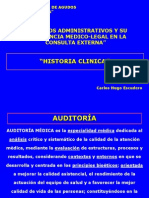 Historia Clinica Auditoria