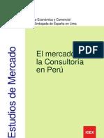 El Mercado de la Consultoría en Perú