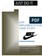 NIKE ERP CASE STUDY