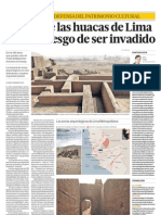 LIMA MILENARIA. DEFENSA DEL PATRIMONIO CULTURAL