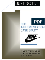 ERP- Nike Implementation of ERP