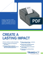 Ithaca 150 Series Impact Printer Brochure