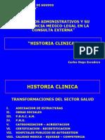 Historia Clinica Generalidades