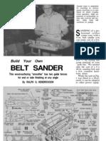 Belt Sander1