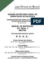 Manual de Instrução do  3º Grau Mestre - REAA