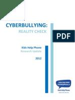 Cyberbullying - Reality Check