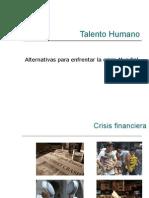 Talento Humano.Crisis mundial
