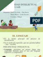 Discapacidad Intelectual y El Lenguaje