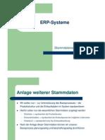 03 Stammdatenanlage SAP (Übung)