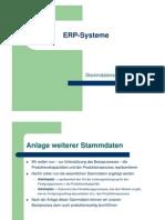 04 Stammdatenanlage SAP (Übung)
