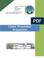 Como Presentar Proyectos