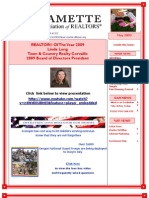WAOR May Newsletter