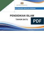Dokumen Standard Pendidikan Islam Tahun 1