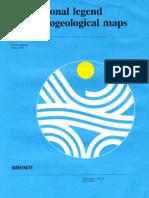 International Legend for Hydrogeology Maps