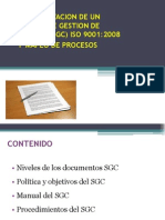 Documentacion de Un Sistema de Gestion de Calidad
