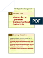 1-Introduction to Operations Management and Productivity