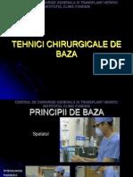 Tehnici Chirurgicale de Baza - Fundeni