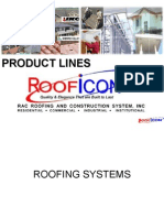 Roofing Roof Icon Product List
