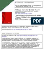 Uchida Philosophical Foundations of Marx on Globalization