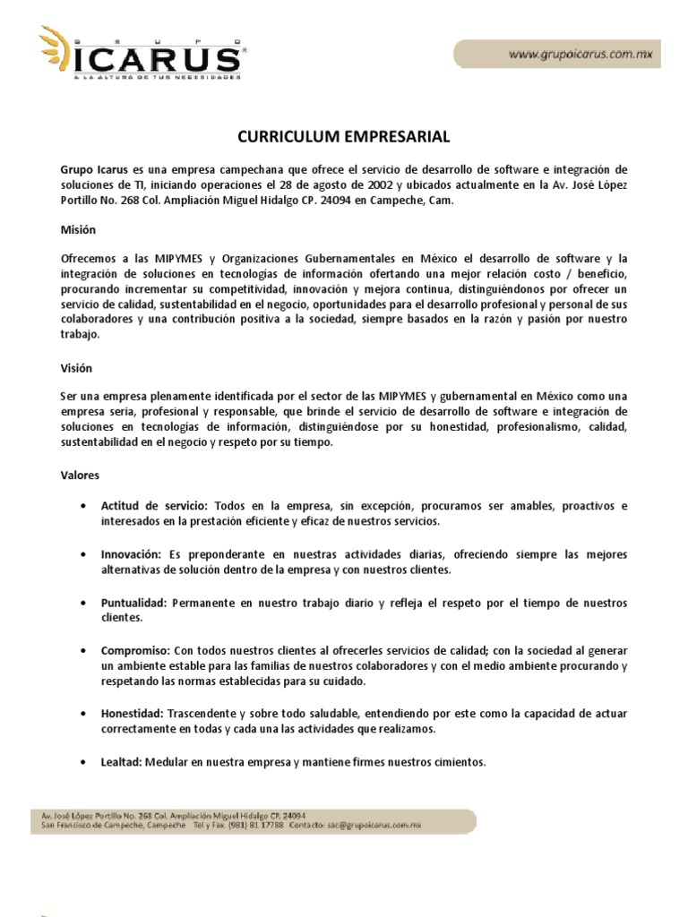 Contemporáneo Formato De Currículum De Agencia Fotos - Ejemplo De ...